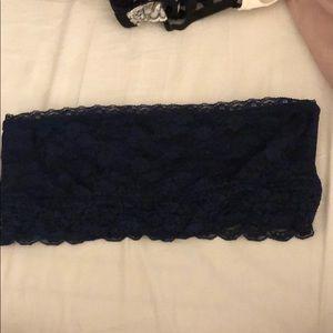 Navy blue bandeau